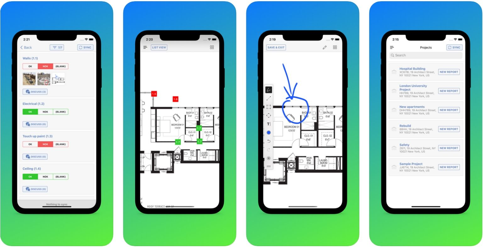 Best apps for Architects - ArchiSnapper - screenshot | ArchiSnapper Blog