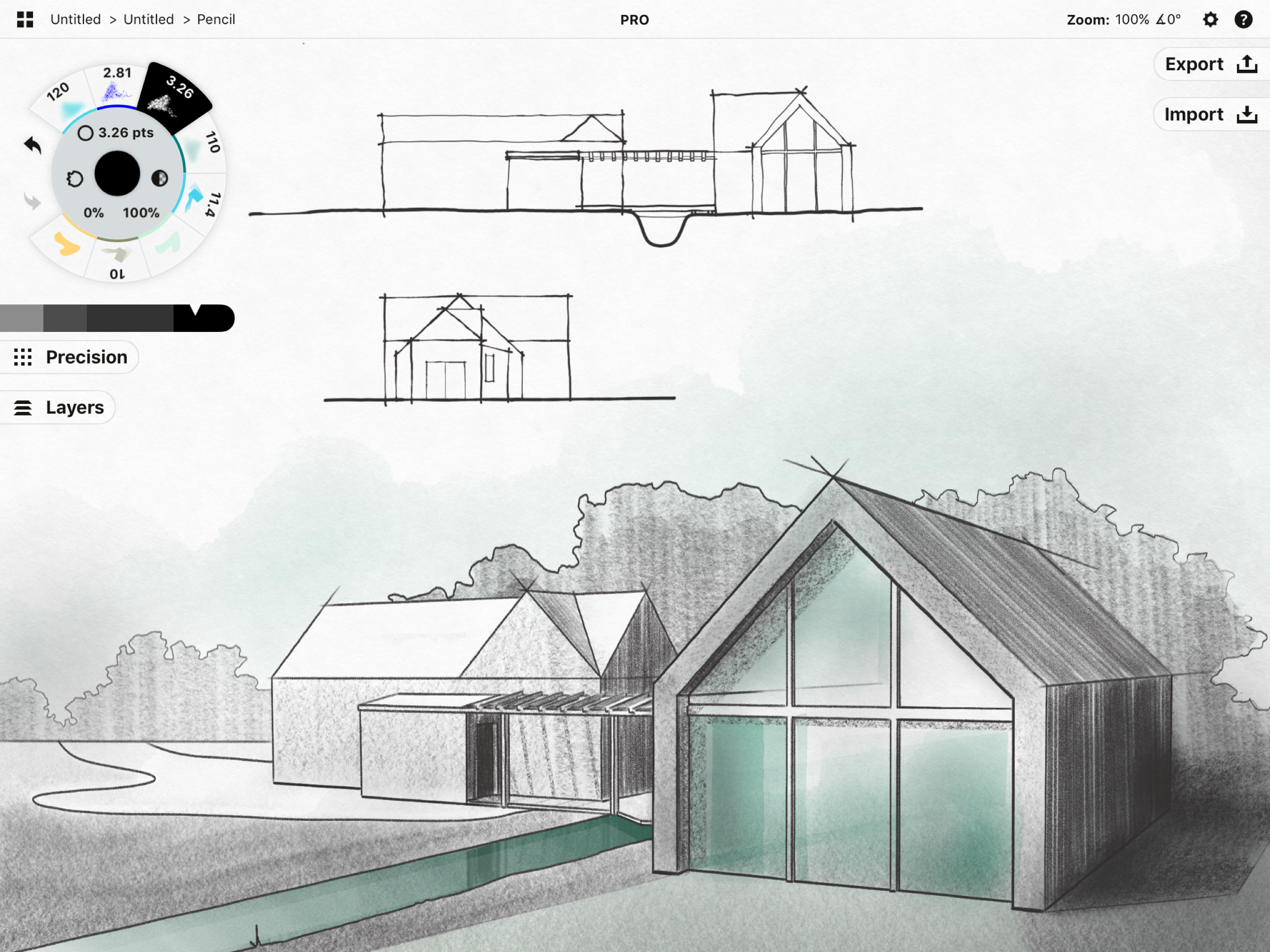 Concepts App for architects via ArchiSnapper blog