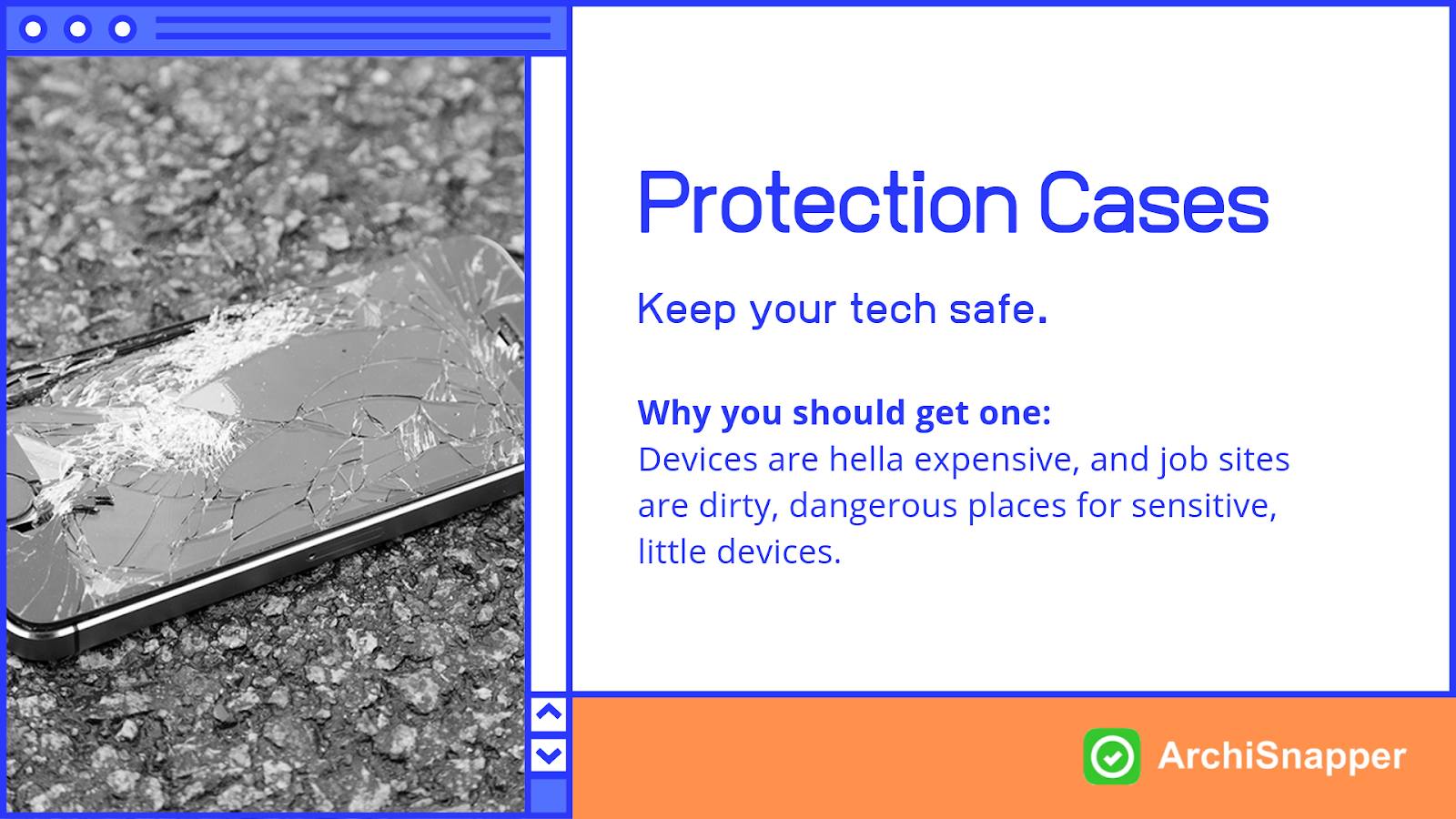 Protection Cases | List of the 15 must-have tech tools and accessories ideal for architects presented by Archisnapper