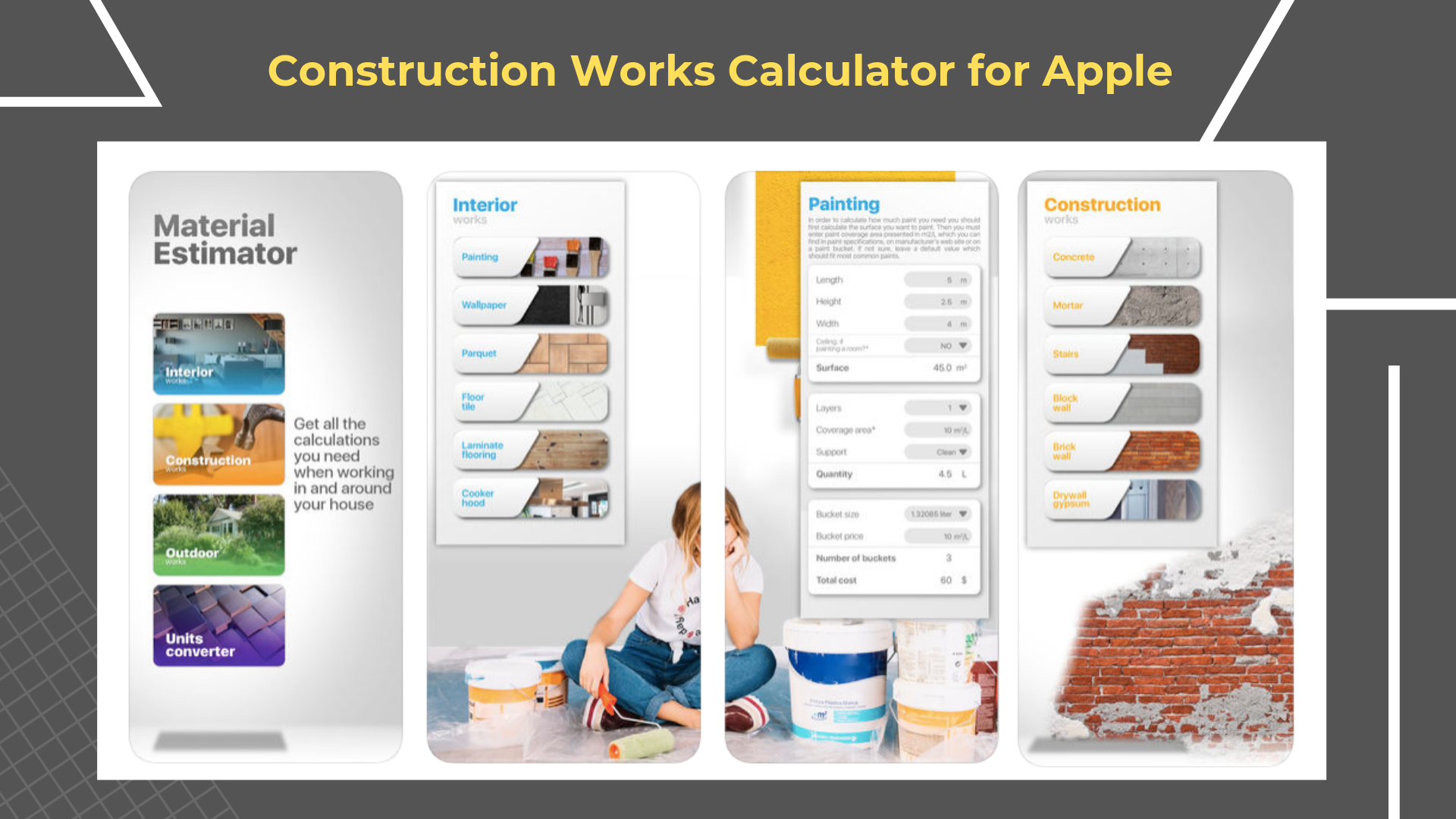 17 Free Construction Apps You Need to Download Right Now | Construction Works Calculator App suggested by Archisnapper of Development