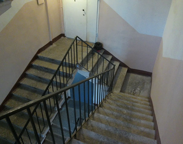 These stairs have an Escherian quality, but not in a good way | Archisnapper presents 20 hilarious staircase building fails