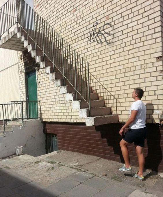 They missed a step | Archisnapper presents 20 hilarious staircase building fails