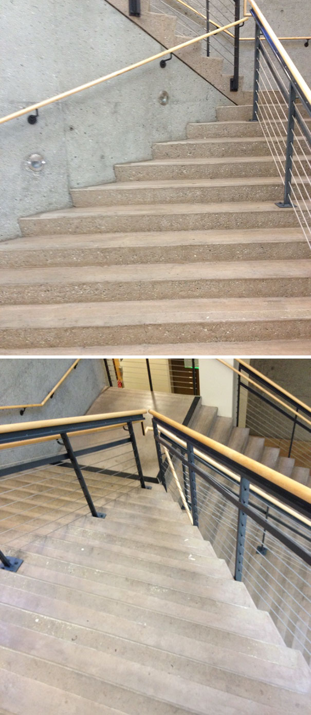 UnHelpful handrails | Archisnapper presents 20 hilarious staircase building fails