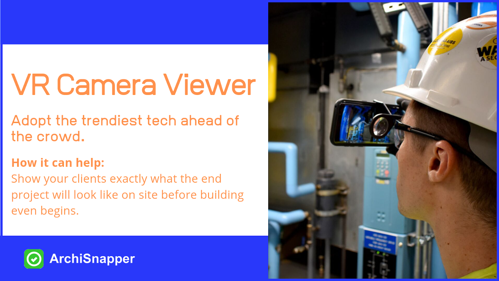 VR Camera Viewer | List of the 15 must-have tech tools and accessories ideal for architects presented by Archisnapper