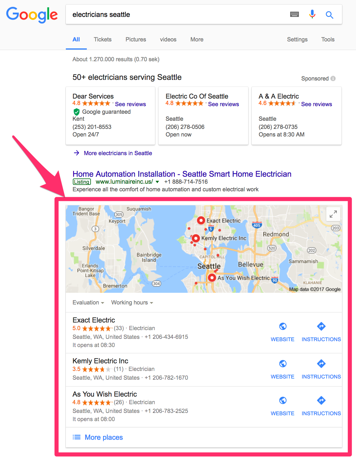 archisnapper how to rank on top in google