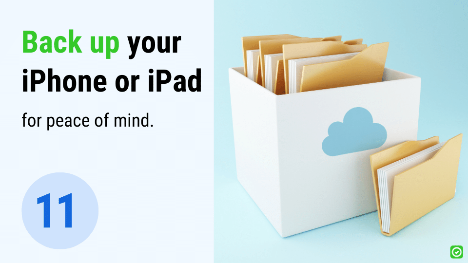back up your iphone or ipad
