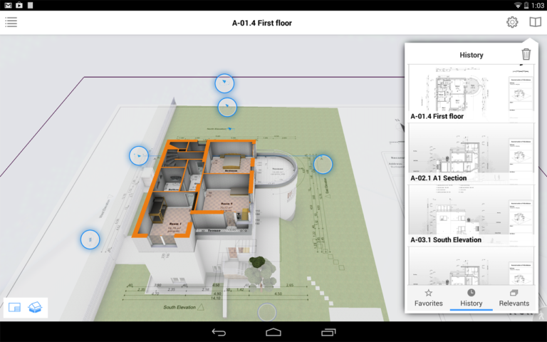 BIMx free construction app