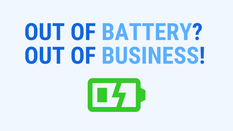 out of battery out of business in construction - the importance of battery autonomy of your smartphone or tablet
