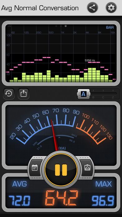 free decibel met app, via archisnapper blog