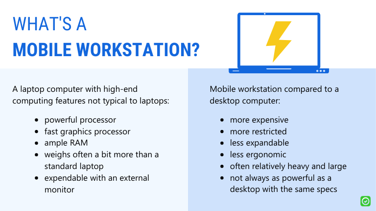 what is a mobile workstation - do architects need a mobile workstation